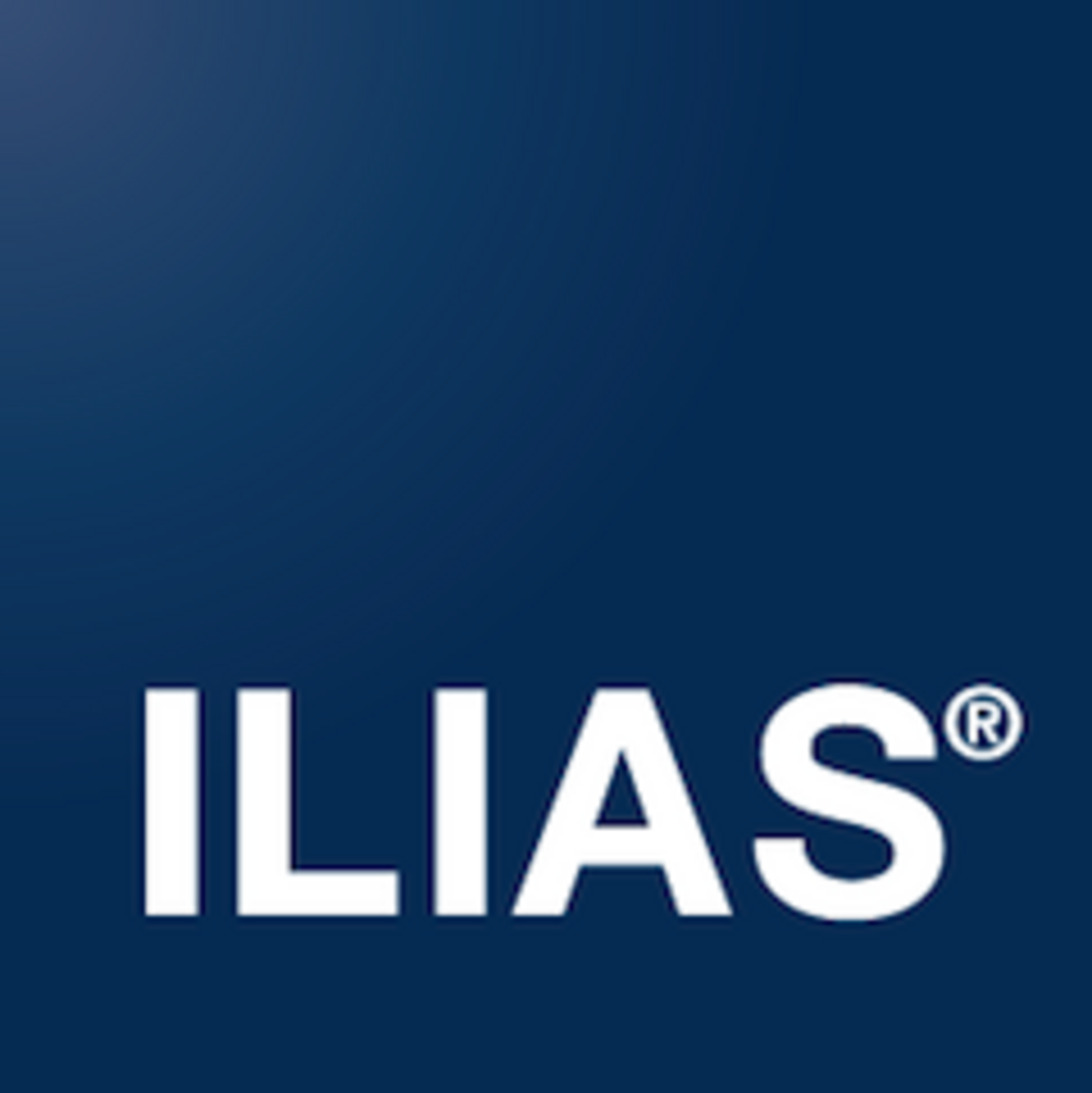 The ILIAS logo: click to log in